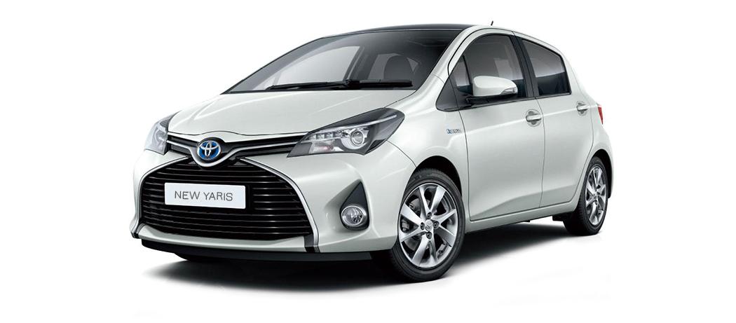 Toyota Yaris Hybrid (ekonomiskā klase)